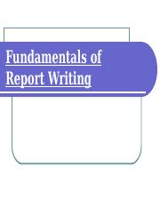 Fundamentals of Report Writing2.ppt