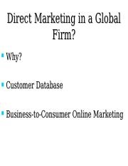 Global & Online Marketing Slides.ppt