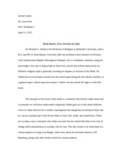 NT1 - Book Report Final