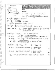 251_Mechanics Homework Mechanics of Materials Solution