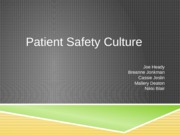 Patient Safety Final Presentation (student document)