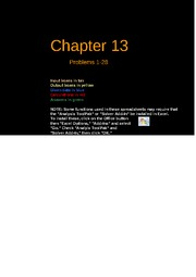 Copy of FCF 9th edition Chapter 13