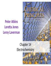 Chapter 14-electochemistry.ppt
