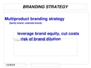 F10 MKTG 3104 Student 11. Product Strategy, Part 2