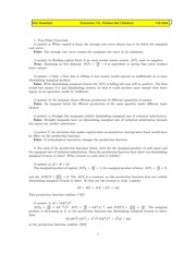 ECON 110 Fall 2004 Problem Set 3 Solutions