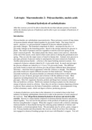 chemical hydrolysis of carbohydrates