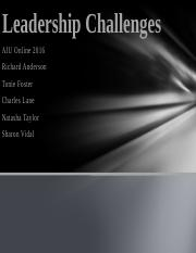 Leadership Challenges 2016 GP2