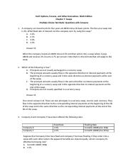 Hull_OFOD9e_MultipleChoice_Questions_and_Answers_Ch07