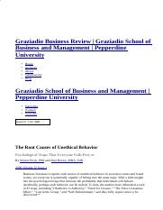 The Root Causes of Unethical Behavior _ Graziadio Business Review _ Graziadio School of Business and