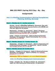 BBA 295 001 MWF1  Day-By-Day Fall  2014 No Write Experience(2) (1)
