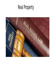 Real Property PP