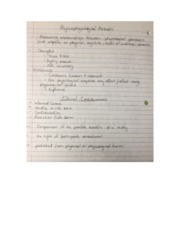 psychological methods (class notes)