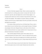 Major Paper # 2 outline - I Introduction A Thesis statement Circle ...
