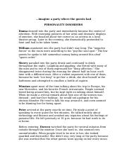 Assignment 11A The Personality Disorders Party Guests(1).docx