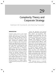 5-Complexity Theory and Corporate Strategy