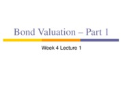 1.8 Week 4 Lect 1Student Bond Valuation pt one