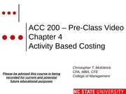 #08 CH4 Video ACC200 ABC - Spring 2014-2