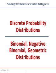 Binomial, Negative Binomial and Geometric Distributions Edited 6-18-1 (1).ppt
