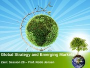 28 - Global Strategy and Emerging Markets