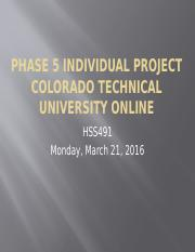 Phase 5 Individual Project hss491.pptx