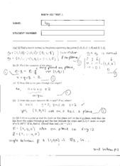 MATH 152 TEST 1 2008 SOLUTIONS