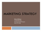 Marketing Strategy Case Handout