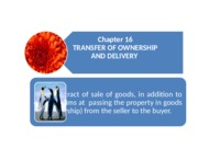 Chapter 16_Transfer of Ownership and Property