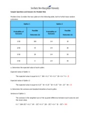 ECO 500Revised ECO 500 Module 9 Sample Problems