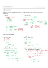 Trig Expressions Review_Answers