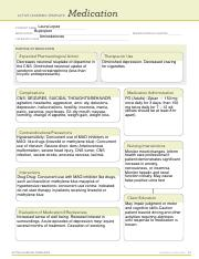 Carbamazepine Active Learning Template Medication Laura Lopez