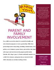 parent and Family involvment.doc