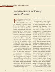 constructivism in theory and practice
