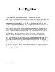 Week 3 Personality Type Assessment ENTJ.docx