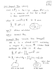 Lecture 19 on Greenen's Theorem