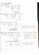 Math 1b (RYERSON) pre-calculus notes