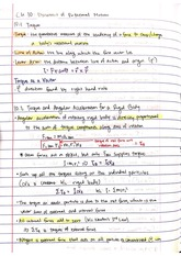 Chapter 10 - Dynamics of Rotational Motion