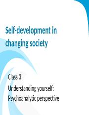 Class 3 Psychoanalytic perspective_Modified