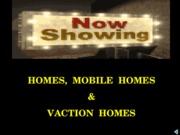 15 Homes, Mobile Homes, Vacation Homes