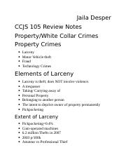 CCJS105 Mixed Review.docx