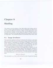 MachineVision_Chapter9