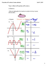 Properties of Functions 2