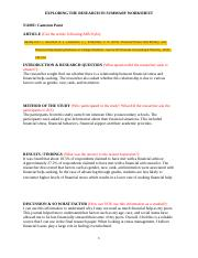Exploring the Research in Summary Worksheet (word document).docx