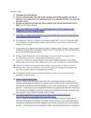 Module 7 Essay - Module 7 Essay 1 Changing card on lru like pcb 2