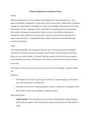 apartment management system database design
