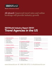 AOW - 56151 Travel Agencies in the US industry report