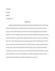 English Bullying Issue Essay.docx