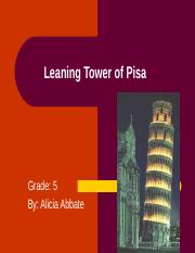 Leaning Tower of Pisa-3