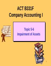 ACT B331F Topic 5 HKAS 36 Impairment of Assets 2015.pptx