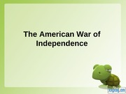 The_American_War_of_Independence