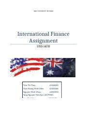 econ price theory rmit vietnam page course hero 14 pages international finance assignment group docx
